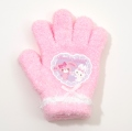 日本製 サンリオ ぼんぼんりぼん 手袋 5本指 13.5cm ピンク (BB1610-135-PK)
