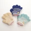 日本製  ひも付き手袋 のびのび五指タイプ 12cm ボタン  (1610-1757)
