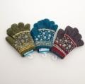 日本製  のびのび五指手袋 12cm 星 (1610-1786)
