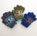 日本製  のびのび五指手袋 キッズ/ジュニア 15cm 36  (1610-1794)