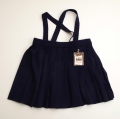日本製 チャイルドの紐付きスカート 紺色 110cm (1611-2437)