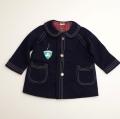 日本製 キムラタンおとぎの国の上品なコート 24か月用 (1611-2451)