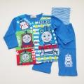 きかんしゃトーマス 前ボタン 腹巻付き長袖パジャマ 80-95cm (T7107)
