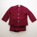 日本製 チルドレンのジャケットスーツ 5-6才用  (1612-2926)