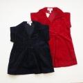 日本製 Createx Jeunesse Parisのジャンパースカート 3-4才/5-6才 (1701-3137)