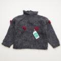 日本製 おとぎの国のニットセーター グレー  90cm/95cm (1701-3211)