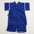 日本製 甚平スーツ 祭り 男の子 イカリ 100cm-130cm(720962)