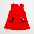 日本製 チャイルドのジャンパースカート  3-4才用 (1703-4145)