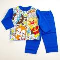 アンパンマン  裏起毛パジャマ  ブルー 90cm  (EA2311)