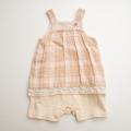 Biquette(ビケット)スカート付きロンパス 70cm(32040)