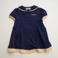 日本製 Marie claire マリークレールの半袖ワンピース 95cm (1704-4481)