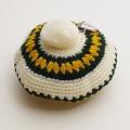 日本製 チャイルドの手編みベレー帽子 3-4才  男女兼用 (1704-4530)
