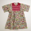 日本製 Createx  Jeunesse Paris レイヤードチュニック丈のお洋服 7−8才用 (1704-4600)