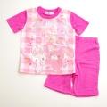サンリオ ぼんぼんりぼん 半袖Tシャツ生地のパジャマ  100-130cm(732BO007112)