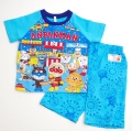 アンパンマン 光る勇気リング付き 半袖パジャマ 95cm-110cm ブルー色 2369228B