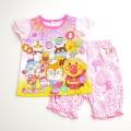 アンパンマン 光る勇気リング付き 半袖パジャマ 95cm-110cm ピンク色 2369229A