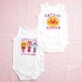 アンパンマン 袖なしボディスーツ 女児 コンビ肌着2枚組(SA5962-P)