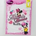 ディズニー!MinnieMouseミニーマウスの三分袖スリーマ(R5401-10)