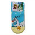 Disney(ディズニー) アナと雪の女王 靴下 オラフ キッズ ブルー 13〜19cm(768)