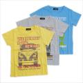 半袖Tシャツ キッズ 車柄 100-120cm(YG-P710)