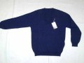 スク−ル セーター/紺色