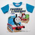 きかんしゃトーマス 半袖Tシャツ 100-110cm(442TM0021-B-WT)