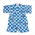 日本製生地使用の甚平スーツ 祭り 男の子 90-95cm(9670-1700)