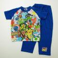 ポケットモンスターXY 半袖パジャマ ブルー 100-130cm  74S804-60