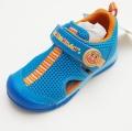 アンパンマンの  サンダルスニーカー靴 キッズ ブルー 14cm-17cm (APM-C130-BU)