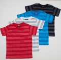 半袖Tシャツ キッズ ジュニア ボーダー 110-130cm(3014-58)