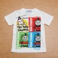 きかんしゃトーマス 半袖Tシャツ 100cm/110cm/120cm (642TM0011-A)