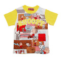 スヌーピー!半袖Tシャツ イエロー100-130cm(542SN0031