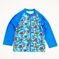 きかんしゃ トーマス ラッシュガード 長袖 水着 ブルー 120cm(642TM9211-BU)