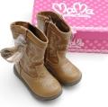 ムーンスターCarrot(キャロット)ブーツ・靴 キャメル 16〜19cm(CR-C2041W)