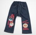 アンパンマン 長丈パンツ 紺90〜95cm(EA7457)