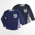 長袖Tシャツ キッズ 100-130cm(A15-1457B)