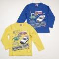 タカラトミー トミカ 長袖Tシャツ 100cm/110cm/120cm (54T210)