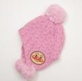 アンパンマン ニット帽 帽子 ピンク色 46-48cm/48-50cm(EA9777)