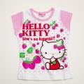ハローキティ  半袖Tシャツ 100cm-130cm (342KT102110-B)