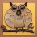 鳥・フクロウ CK100-E017