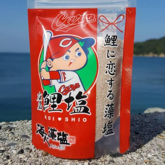 海人の藻塩 広島鯉塩 80gスタンドパック