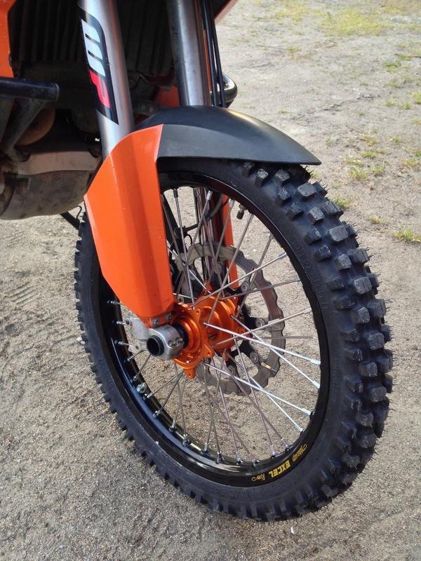 (F単体)KTM Adventure コンプリートホイール
