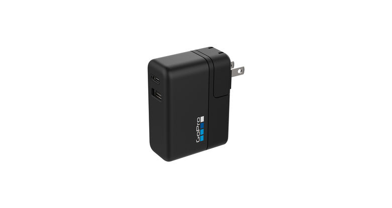 GoProスーパーチャージャー (国際デュアルポート充電器) AWALC-002-AS