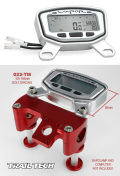 Vaporメーター用トップマウントプロテクター:022-TM(アルミニウムマウント)