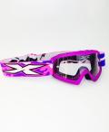 X-Brand キッズ用ゴーグル ''X-GROM'' Liquid フローパープル 紫