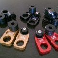 Husqvarna TC/TE/TXC/WR/CR/SMR/FC/FE  250/450 リアアクスル ブロック スライダーセット Slide