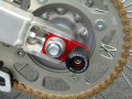 Honda CRF150R用 アクスル ブロック スライダー