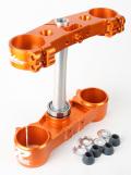 RIDE ENGINEERINGトリプルクランプキット KTM SX/XC (13-15) & EXC/XCW (14-15) オレンジ 19mm オフセット