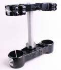 RIDE ENGINEERINGトリプルクランプキット KTM SX/XC (00-12) EXC (00-13)ブラック 22mm オフセット