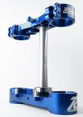 RIDE ENGINEERINGトリプルクランプキット KX450F/KX250F  13-15 ブルー(限定)21.5mm オフセット